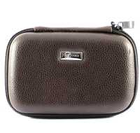 Cayenne HDD Leather Bag Brown