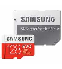 Evo Plus MicroSDXC UHS- I Card 128GB