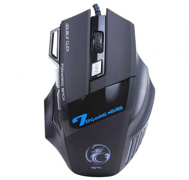 تصویر ماوس مخصوص بازی تسکو مدل TM 2018n به همراه ماوس پد TSCO TM 2018n Gaming Mouse With Mouse pad