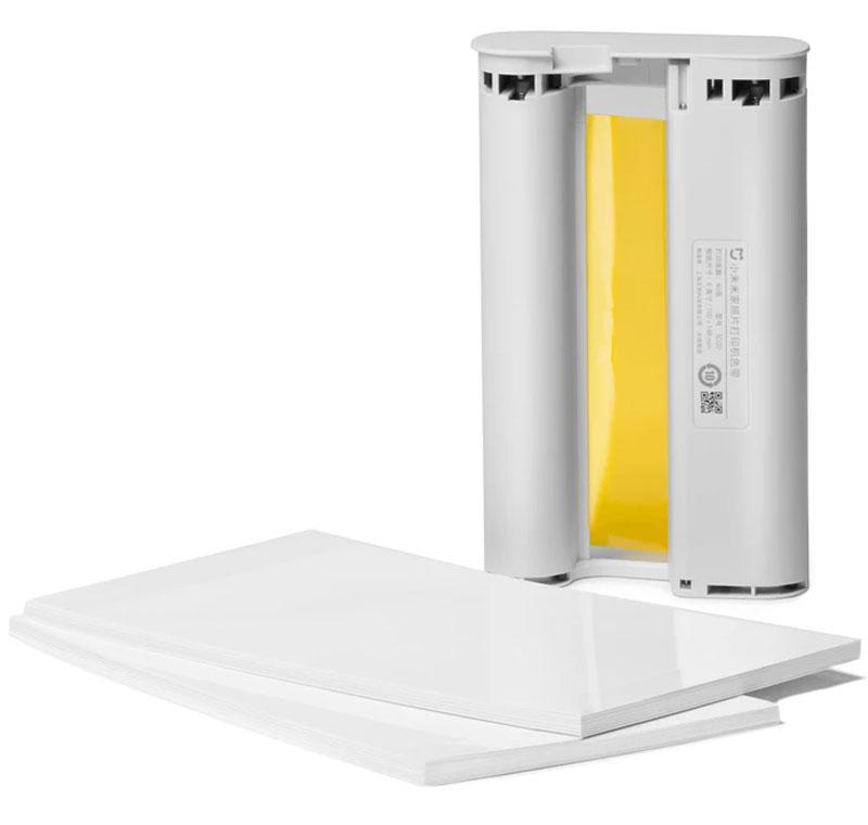 Xiaomi کارتریج و کاغذ چاپ پرینتر شیا ومی TEJ4006CN Mija Printer Cartridge  amp  Paper