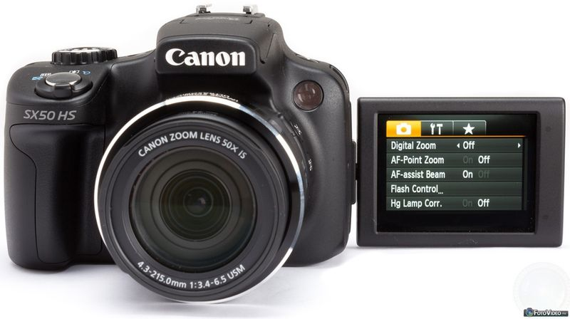 Canon دوربین عکاسی کانن PowerShot SX50 HS