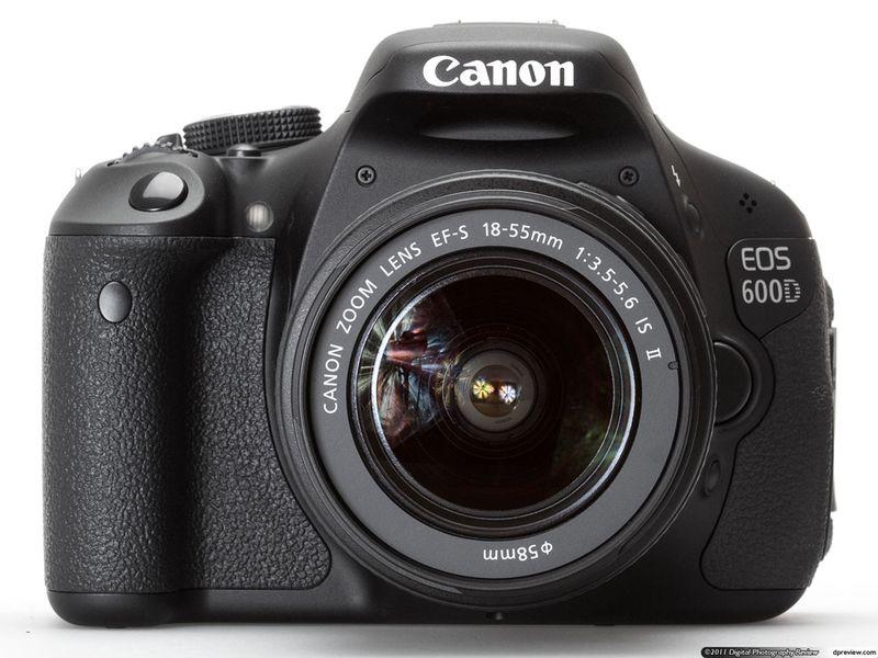 Canon دوربین عکاسی کانن EOS 600D  EOS Rebel T3i   EOS Kiss X5