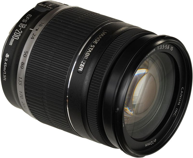 Canon EF S 18 200mm f 3 5 5 6 IS