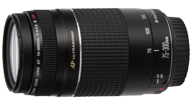 Canon EF 75 300mm f 4 0 5 6 III