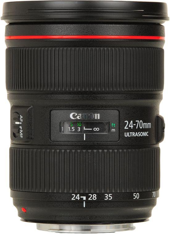 Canon EF 24 70mm f 2 8 L II USM