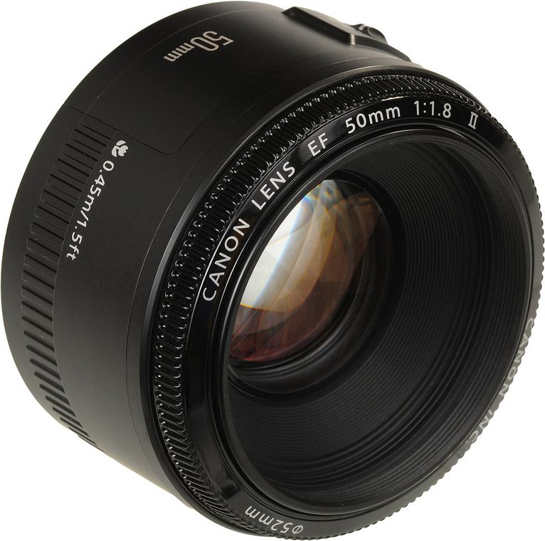 Canon لنز دوربین کانن EF 50mm F 1 8 STM