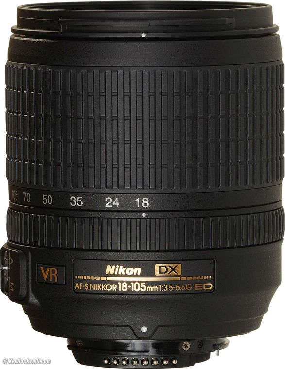 Nikon AF S DX Nikkor 18 105mm f 3 5 5 6G ED VR