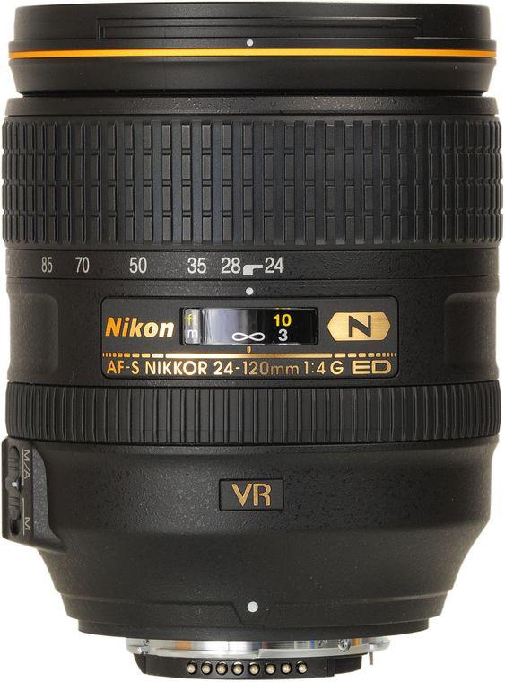Nikon AF S Nikkor 24 120mm f 4G ED VR