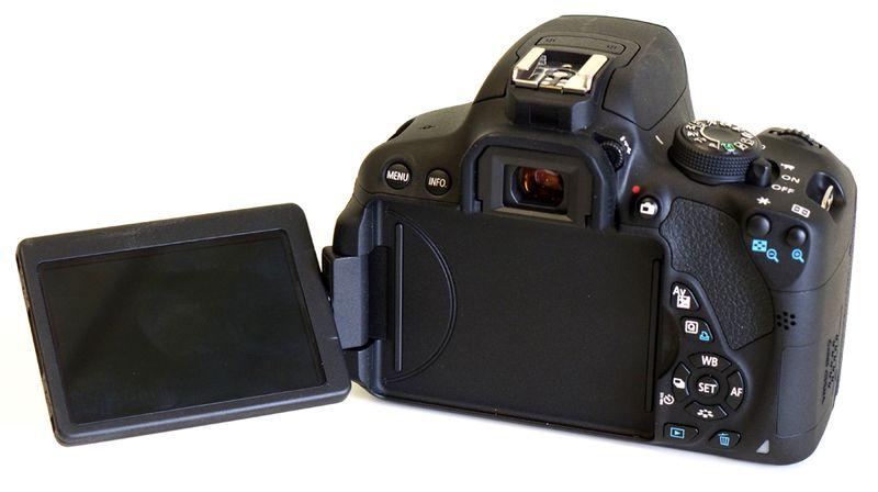 Canon EOS 100D بدنه