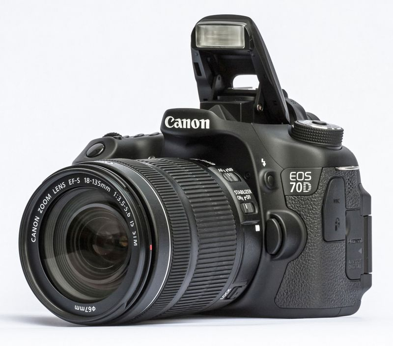 Canon EOS 70D بدنه