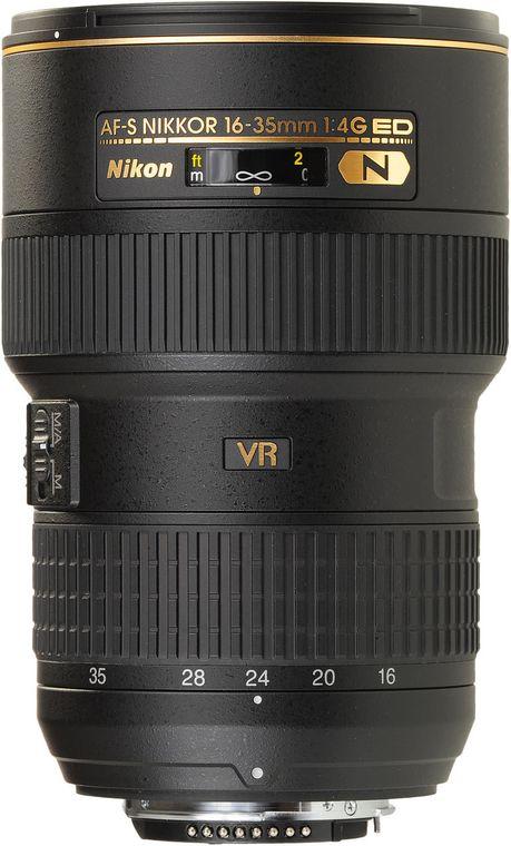Nikon AF S Nikkor 16 35mm f 4G ED VR