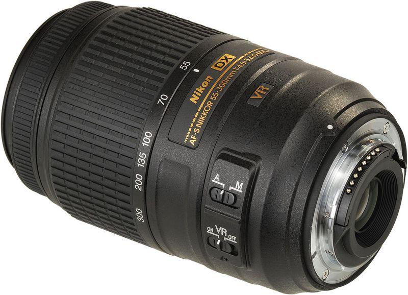 Nikon AF S DX Nikkor 55 300mm f 4 5 5 6G ED VR