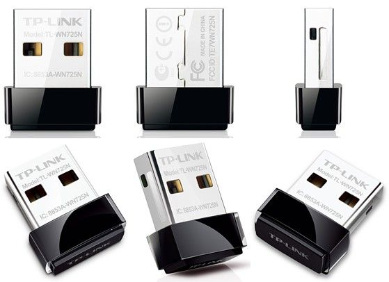 TP LINK کارت شبکه وایرلس USB تی پی لینک TL WN725N