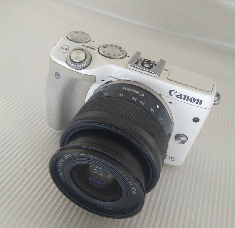 Canon دوربین کانن eos m3 با لنز 15 45