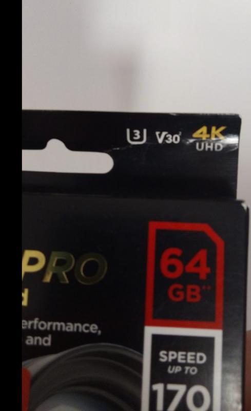 SanDisk مدل Extreme Pro V30  64 گیگابایت