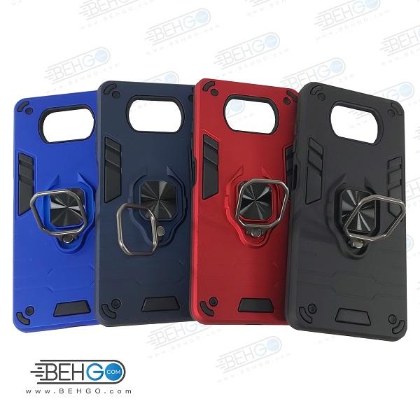 کاور گوشی موبایل POCO X3   در سه رنگ قرمز   سیاه و  صورتی کم رنگ