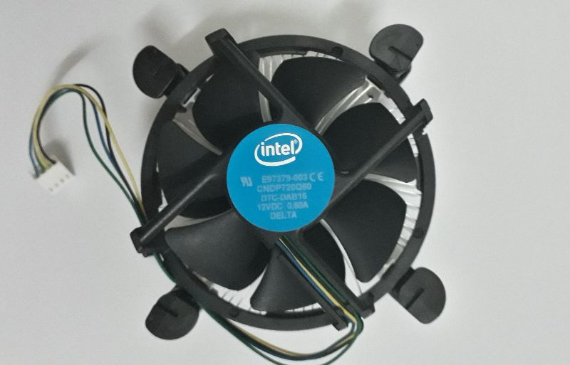 Intel سی پی یو Cpu G4400 intel با فن