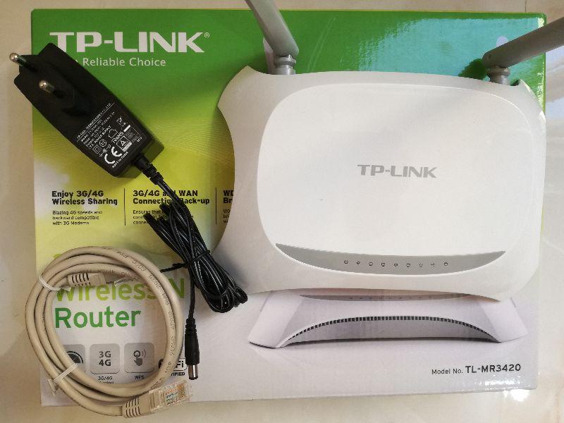 TP LINK روتر   TL MR3420