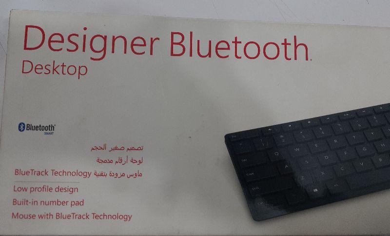 Microsoft کیبورد و ماوس بی سیم مایکروسافت مدل Designer Bluetooth Desktop