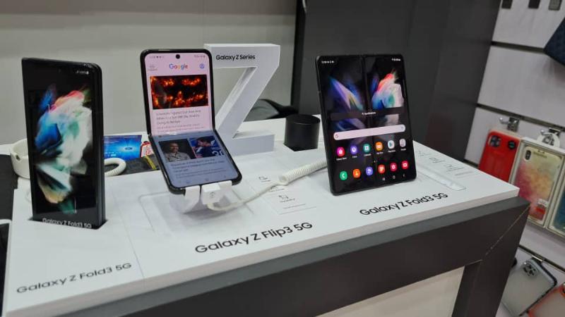Samsung سامسونگ گلکسی زد فولد 3 256GB رام 12 5G