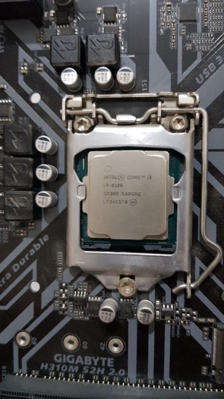 باندل i3 8100   gigabyte h310m s2h 2 0   8gb ddr4