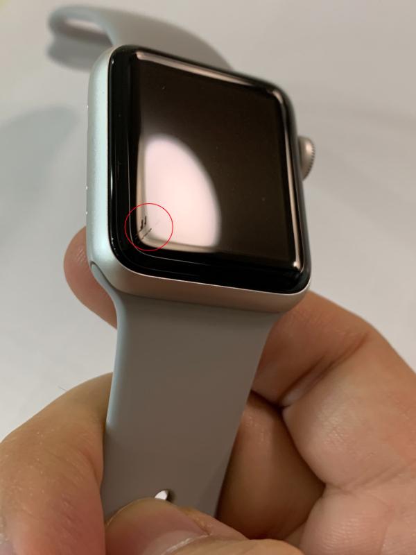 Apple فروش اپل واچ سری 3   38 م م   سیلور