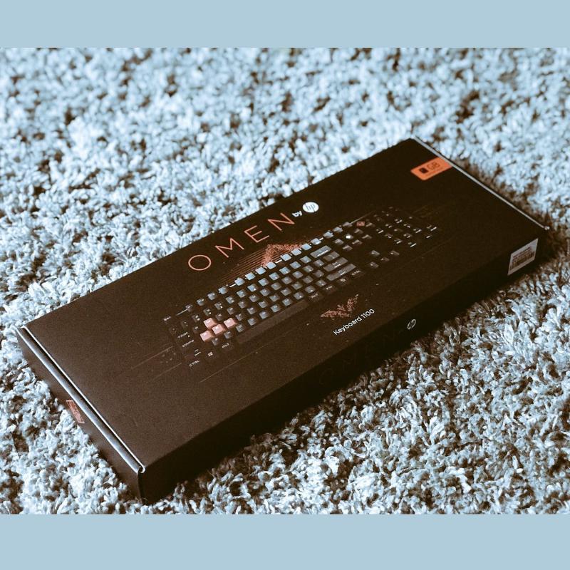 کیبورد مکانیکی HP مدل Omen 1100