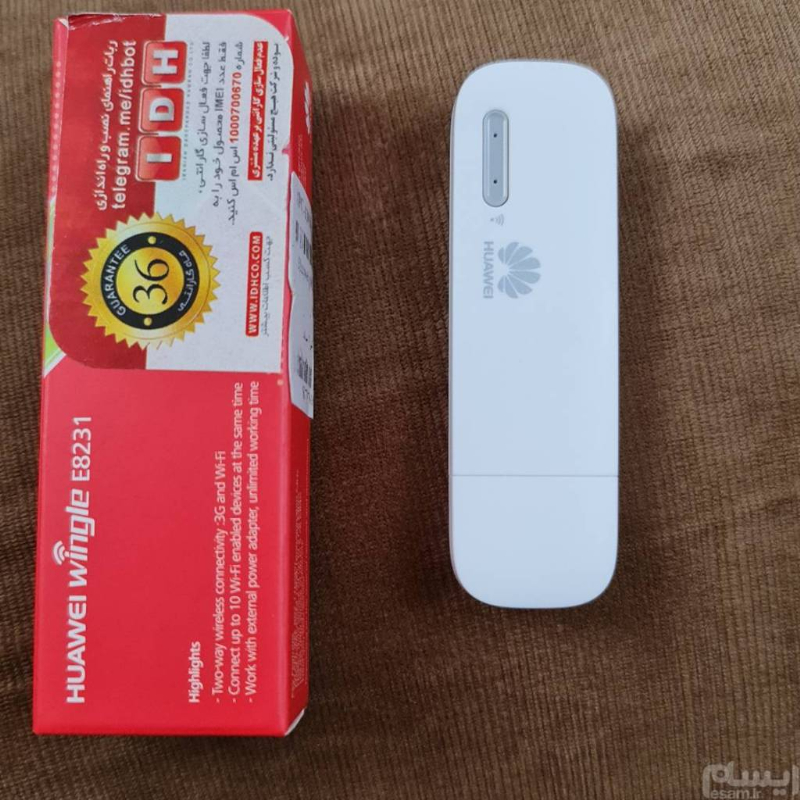 مودم سیمکارتی wifi USB 3G   Huawei E8231