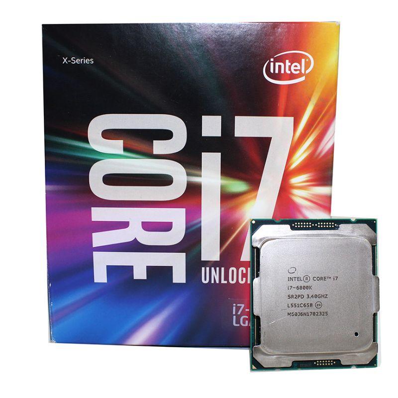 Intel پردازنده قوی و کمیاب CPU intel Core i7 6800K LGA2011