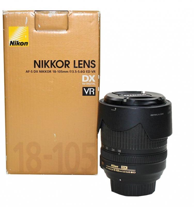 Nikon لنز دوربین نیکون Lens  Nikkor AF S 18  105mm f 3 5 5 6G