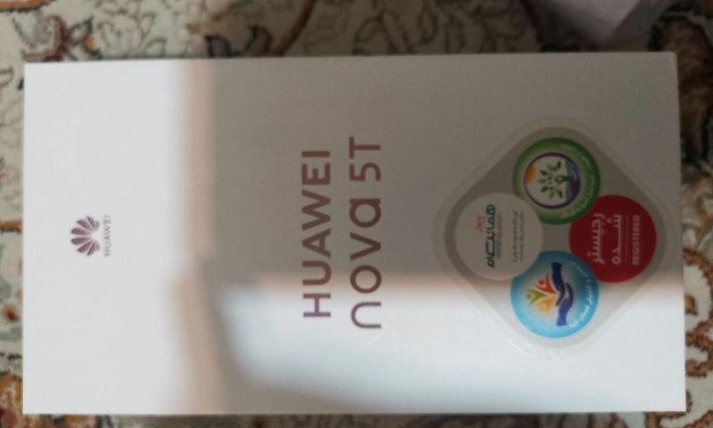 Huawei  گوشی موبایل هو وی مدل Nova 5T YAL L21 دو سیم کارت ظرفیت 128 گیگابایت مشکی