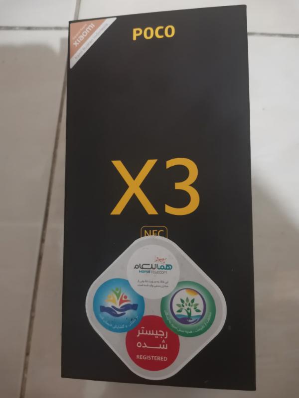 Xiaomi گوشی موبایل شیا ومی Poco X3 NFC ظرفیت 128 گیگابایت و رم 8 گیگابایت